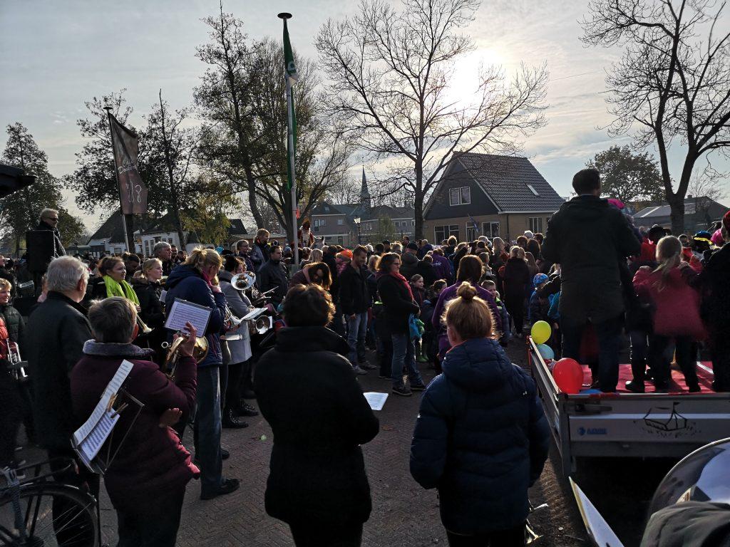 Sint intocht Donkerbroek 2019